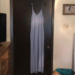 Baby Blue Beach Breezy Maxi Dress